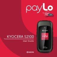 KYOCERA S2100 - Virgin Mobile