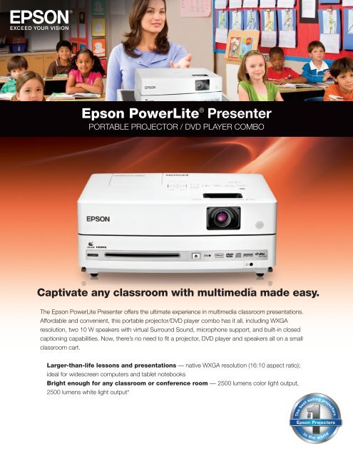 USB cable and HDMI cable for Epson POWERLITE Presenter