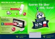 Einfach direkt bestellen www.md.de oder unter: 01805 - 140 440 040
