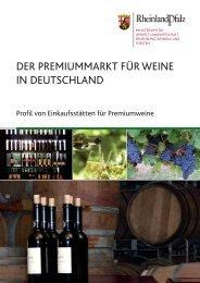 Der Premiummarkt für Weine in Deutschland - Ministerium für ...