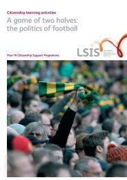 A game of two halves: the politics of football - Excellence Gateway