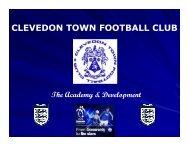 CLEVEDON TOWN FOOTBALL CLUB - Pitchero