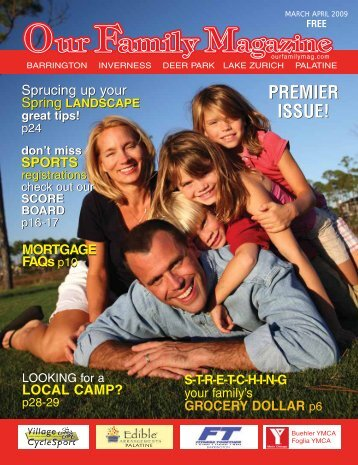 premier issue! - Our Family Magazine