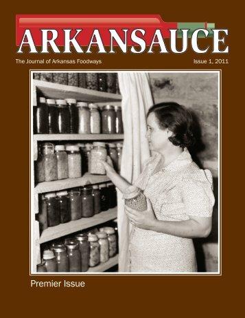 Premier Issue - University of Arkansas Libraries