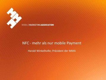 NFC - mehr als nur mobile Payment - E-Day