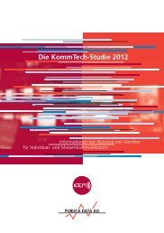 Die KommTech-Studie 2012 - Publica Data AG