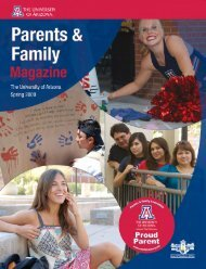 Spring 2009 - Arizona Daily Wildcat - University of Arizona