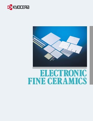 Substrates - Electronic Fine Ceramics - Kyocera Americas