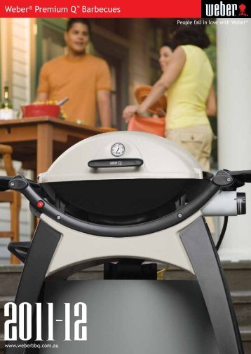Weber® Premium Q™ Barbecues - The BBQ Shop