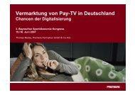Thomas Medau, Premiere Fernsehen GmbH & Co. KG