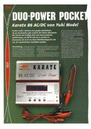 YUKI Modell KARATE B6 DuoPower - Crizz