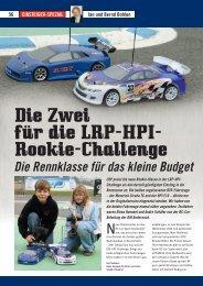 EINSTEIGER-SPEZIAL 58 Jan und Bernd Bohlen - LRP