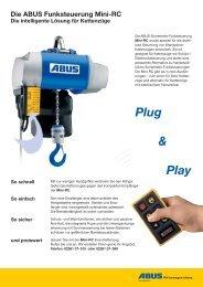 Die ABUS Funksteuerung Mini-RC Die intelligente Lösung für ...