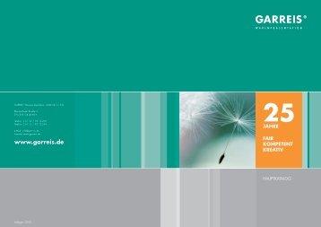 25 jahre mobile vielfalt - Garreis Warenpräsentation GmbH & Co. KG