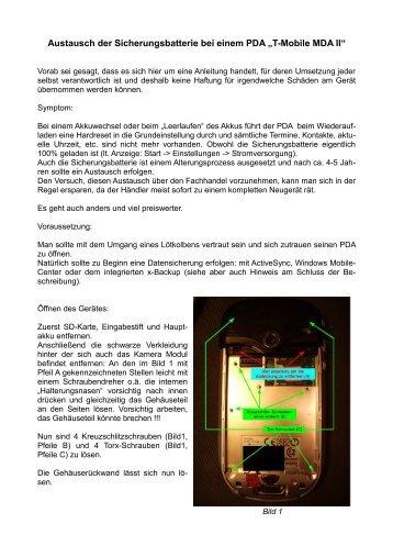 PDF laden MDA-2-Akkutausch