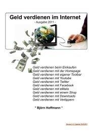 Geld verdienen im Internet - VERKAUF - Werbung Geld.de
