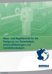 Katalog Datenkabel Automobil Installation - Sikora