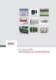 Dr. Schetter BMC MESSTECHNIK und AUTOMATISIERUNG