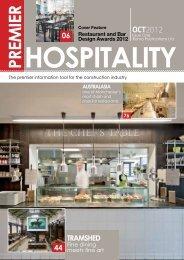 hospitality prem ier 06 - Premier Construction Magazine, UK