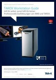 Laden Sie sich hier den aktuellen TAROX Workstation