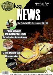 Terralog NEWS 101 - Die Wirbellosen