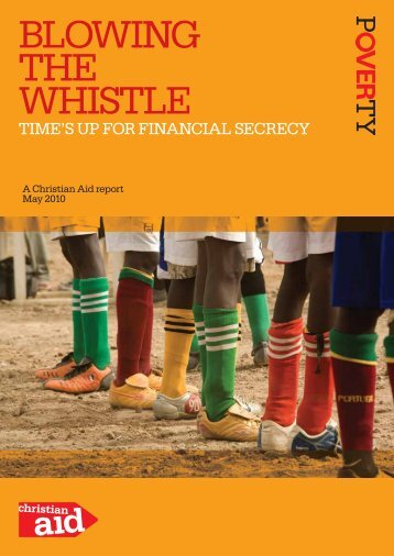 BLOWING THE WHISTLE - Christian Aid