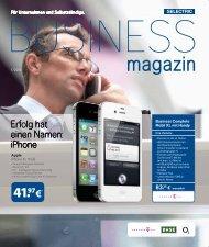 können Sie das aktuelle Business Magazin downloaden