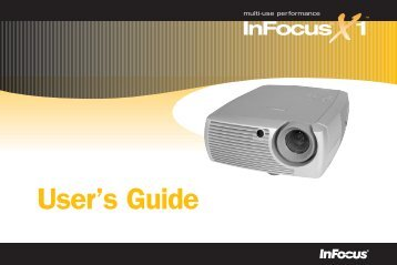 User's Guide - InFocus