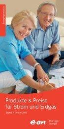 Flyer Produkte & Preise (PDF, 2 MB) - E.ON Thüringer Energie AG