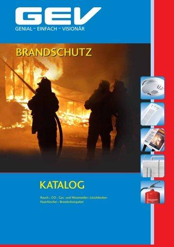 KATALOG BRANDSCHUTZ BRANDSCHUTZ - Obi