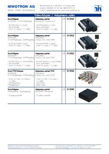 Adapter AV.p65