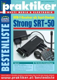 Strong SRT-50: DVB-T-Receiver als Scart-Stecker - ITM praktiker ...