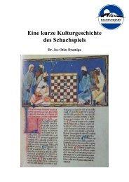 Kulturgeschichte des Schachs - Chess-International