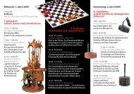 II. Spielzüge: Schachkalkül und - Lehrstuhl für Komparatistik
