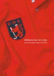 Teamvorstellung 1. Herren - Düsseldorfer Hockey Club eV