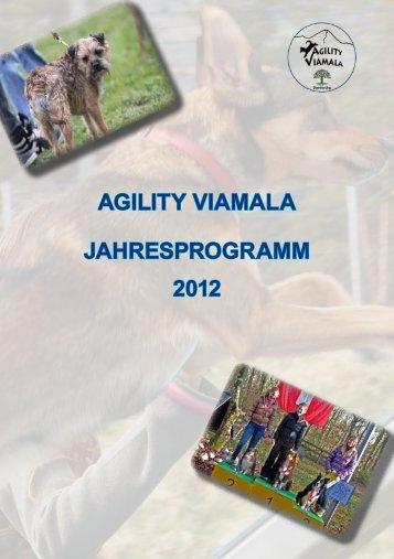 agility viamala Jahresprogramm 2012