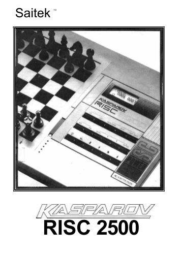 Kasparov - Alain Zanchetta