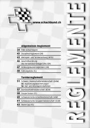wichtig! - Schweizer Schachbund