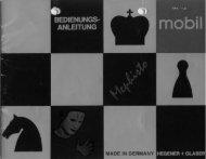 Chess Challenger scan - Alain Zanchetta