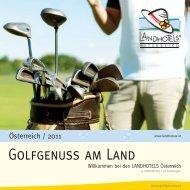 FASZINATION GOLF - LANDHOTELS Österreich