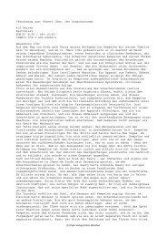 Textauszug aus: Robert Löhr, Der Schachautomat 416 Seiten ...