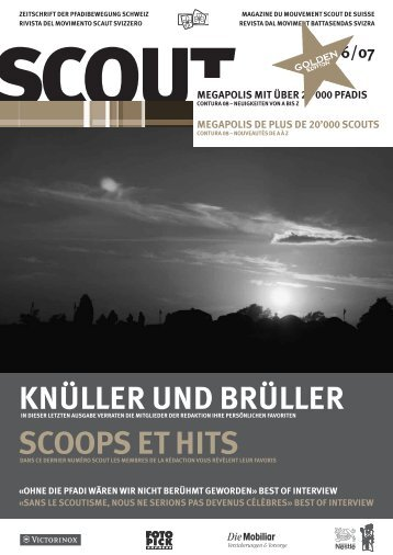 KNÜLLER UND BRÜLLER SCOOPS ET HITS - Scout.ch