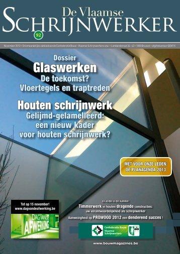 De vlaamse Schrijnwerker - Bouwmagazines