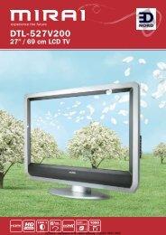 EDNord - Mirai LCD TV 27