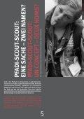 PFADI AUF DEM GIPFEL SCOUTS AU SOMMET - Scout.ch - Page 5