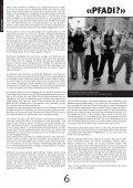 PFADI AUF DEM GIPFEL SCOUTS AU SOMMET - Scout.ch - Page 6