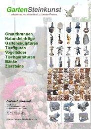 PDF-Katalog - Garten-Steinkunst