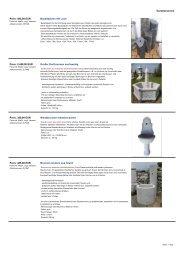 Gartenbrunnen Basaltsäulen mit Loch Preis ... - Garten-Steinkunst