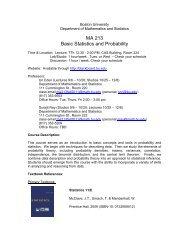 Download - Mathematics & Statistics - Boston University