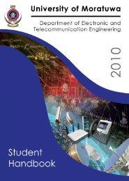 Handbook 2010(Draft) - Department of Electronic ...